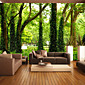 JAMMORY Large - scale Murals Forest Big Tree Vine Man TV Background Wall Wallpaper Wall Cloth Abstract Simplicity XL XXL XXXL 3204