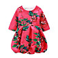 Girl's Casual/Daily Floral Dress,Rayon Spring Half Sleeve 3204