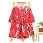 Girl's Casual/Daily Floral Dress,Rayon Summer Half Sleeve 3204