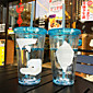 Transparent Cartoon Drinkware 450 ml Portable BPA Free Plastic Juice Water Tumbler 3204
