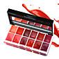 1Pcs 12 Colors Lips Makeup Brand Girl Woman Professional Make Up Lip Gloss Lipstick Cream Palette Set Beauty Brand 25G 3204