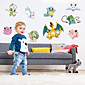 Creative Pocket Monster Family Wall Stickers Fashion Removable Wall Decals Home And Garden 3204