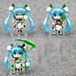 Anime Action Figures Inspired by Vocaloid Hatsune Miku PVC 10 CM Model Toys Doll Toy 1set 3204