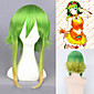 Vocaloid Gumi Wig Cosplay Green Ombre Wig Anime Heat Resistant Synthetic Hair For Costume Party 3204
