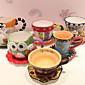 Cartoon Drinkware, 260 ml Decoration Ceramic Coffee Water Coffee Mug 3204