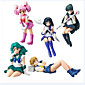 Anime Action Figures Inspired by Sailor Moon Sailor Moon PVC 6.5 CM Model Toys Doll Toy 1set 3204