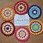 Set of 20 pieces doily Assorted Shabby Chic Vintage Look Crocheted Doilies 3204