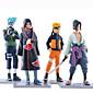 Anime Action Figures Inspired by Naruto Naruto Uzumaki PVC 19 CM Model Toys Doll Toy 1set 3204