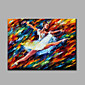 Hand-Painted Abstract Ballerina Horizontal Modern Classic One Panel Canvas Oil Painting For Home Decoration 3204