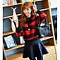 Women's Casual/Daily Sweatshirt Solid Color Block Round Neck Micro-elastic Cotton Long Sleeve Fall Winter 3204