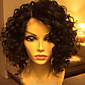 Hot!! High Quality 100% Human Hair Lace Front Wavy Style Brazilian Virgin Hair Wigs for Women With Baby Hair 3204