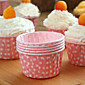 100 Pcs Cupcake Liner Baking Cup Cupcake Paper Muffin Cases Cake Box Cup Egg Tarts Tray Cake Mold Decorating Tools Random color 3204