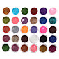 30Pcs Mixed Color Eyeshadow Powder Glitter Mineral Spangle Sequins Nail Art Decorations 3204