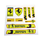 PVC Auto Sticker Decal Emblem Badge For Ferrari 3204