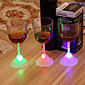 1Pcs Bar KTV Induction Luminous Cup Colorful Light-emitting LED Cup Encounter Water Namely Bright Dazzle Colour Above The Cup 3204