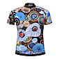 Cycling Jersey Men's Short Sleeve Bike JerseyQuick Dry Breathable Soft Lightweight Materials Back Pocket Sweat-wicking Comfortable UV 3204