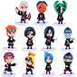 Anime Action Figures Inspired by Naruto Sasuke Uchiha PVC Model Toys Doll Toy 11pcs 3204