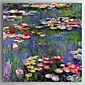 Hand-Painted   Oil Painting  Claude Monet Waterlilies 3204
