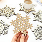 Snowflake Mug Coasters Placemat Wooden Carved Coffee Tea Drinks Cup Holder Mats Gift Random Style 1pc 3204