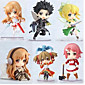 Anime Action Figures Inspired by Sword Art Online Cosplay PVC 6 CM Model Toys Doll Toy 1set 3204