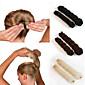 2Pcs  Magic Style Hair Styling Tools Buns Braiders Curling Headwear Hair Rope Hair Band Accessories 3204