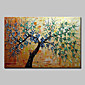 Hand-Painted Modern Abstract Tree Folwer Oil Painting On Canvas Wall Art Pictures For Home Decoration Ready To Hang 3204