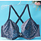 3/4 cup Bras,Double Strap Cotton 3204