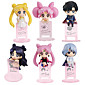 Anime Action Figures Inspired by Sailor Moon Cosplay PVC 10 CM Model Toys Doll Toy 1set 3204