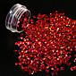1g/bottle Hot Fashion 3D Glitter Sequins Laser Beautiful Red Shining Heart Shape Design Flash Paillette Nail Salon DIY Beautiful Decoration 1200W 3204