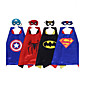 Halloween Child Capes/Superman Batman Spiderman/Costume Party Costume/Cloak And Mask 3204