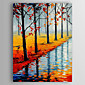 Oil Painting Hand Painted - Landscape Abstract Canvas 3204