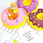 Inflatable Donut Cup Holder Floating Inflatable Coasters Drink Beverage Holders Pool Can Party Bath 3204