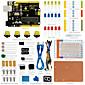 Keyestudio UNO R3 Breadboard kit for Arduino starter with dupont wireLEDresistorPDF 3204
