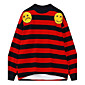 Women's Sports Going out Simple Sweatshirt Striped Round Neck Micro-elastic Cotton Long Sleeve Fall Winter 3204
