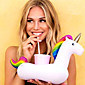 Inflatable Unicorn Floating Cup Holder For Beverage Boats Phone Stand Holder Party Supplies 3204