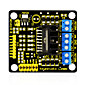 Keyestudio New L298N Shield Dual H Bridge DC Stepper Drive Controller Board Module for Arduino Smart Car Robot 3204