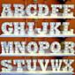 26 Letters Alphabet Night LED Lamp Wall Decoration For Children Bedroom Wedding Decor 3204