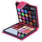 1Pc Eyeshadow Palette Shimmer Eyeshadow palette Powder Daily Makeup Party Makeup Smokey Makeup 3204