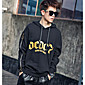 Men's Going out Hoodie Print Hooded Micro-elastic Polyester Long Sleeve Fall 3204