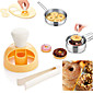 Plastic Donut Mold Cake Mold Desserts Bread Cutter Maker Baking Bakeware Mould Decorating Tools 3204