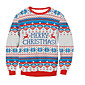 Women's Daily Sweatshirt Print Round Neck Micro-elastic Polyester Others Fall 3204