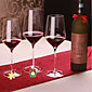 6Pcs/Set Christmas Wine Glass Decoration Charms Party New Year Cup Ring 3204