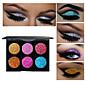 6 Eyeshadow Palette Eyeshadow palette Daily Makeup Halloween Makeup Party Makeup Cateye Makeup Smokey Makeup 3204