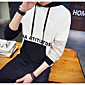 Men's Sports Casual/Daily Simple Hoodie Solid Oversized Hooded Inelastic Cotton Polyester Long Sleeve Spring Fall 3204