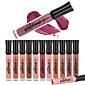 1PCS 12 Color Popfeel Matte Nude Velvet Sexy Vampire Makeup Long Lasting Liquid Lipstick Lip Tint Cream Lip Gloss 3204