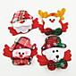 4 PCS/Set Luminous Christmas Brooch 3204