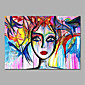 Hand-Painted People Horizontal,Animals Modern One Panel Canvas Oil Painting For Home Decoration 3204