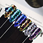 1 pcs Nail Jewelry / Sequins / Glitter Powder Art Deco / Retro / Classic / Laser Holographic Daily 3204