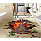 Decorative Wall Stickers - 3D Wall Stickers Abstract / Fantasy / 3D Living Room / Bedroom / Study Room / Office 3204