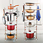 Stainless Steel Creative Kitchen Gadget Cookware Holders 1pc Kitchen Organization 3204